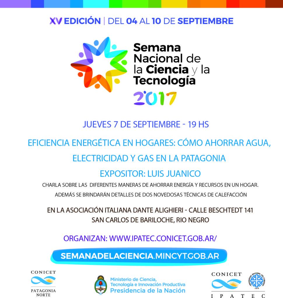 Semana de la Ciencia 2017 Charla Luis Juanico vf