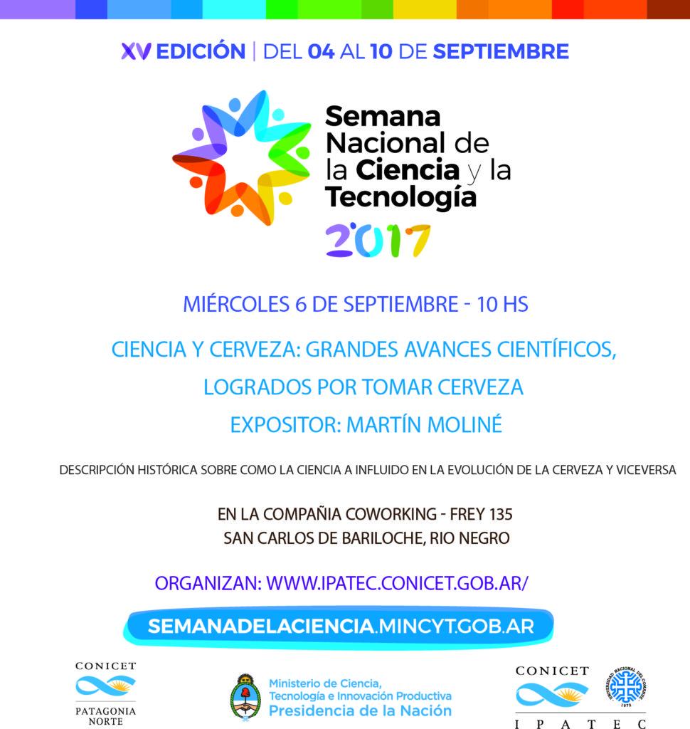 Semana de la Ciencia 2017 Charla Martin Moline vf