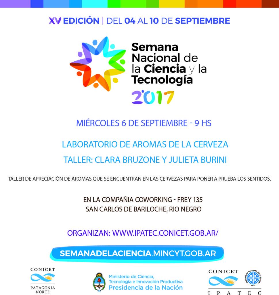 Semana de la Ciencia 2017 taller Bruzone y Burini vf