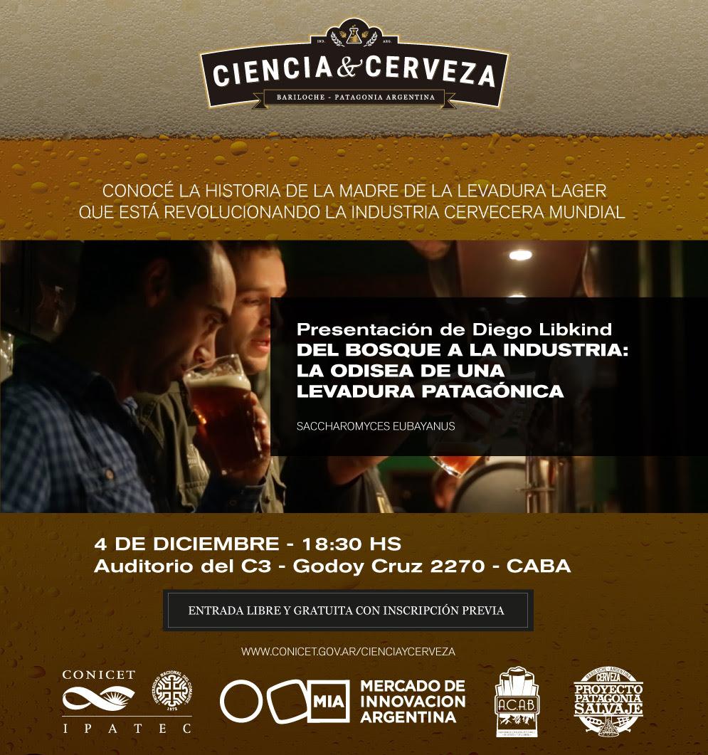 Ciencia y Cerveza CABA 4 dic